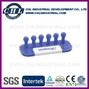 Прочный мягкий ПВХ красочные кабельная стяжка кабеля для мобильных телефонов
