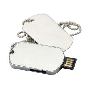 カスタムロゴのドッグタッグの親指駆動機構USB 2.0のメモリ棒