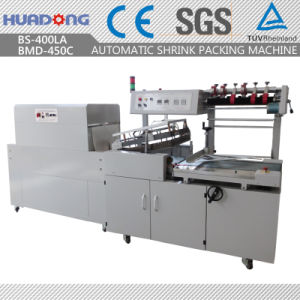 Cajero automático de la máquina de envasado retráctil de papel