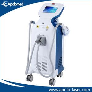Apolomed Elight IPL Laser-Haar-Abbau-Maschine für Verkauffreckle-Abbau Elight IPL HF Laser-Haar-Abbau-Maschine