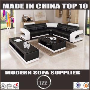 Sofà domestico moderno del cuoio della parte superiore della mobilia per il salone