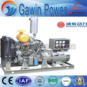 GF2 15kw Weichai Serien-wassergekühlter Diesel-geöffnete festlegensets