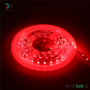 Color rojo al aire libre Non-Waterproof tira de LED flexible