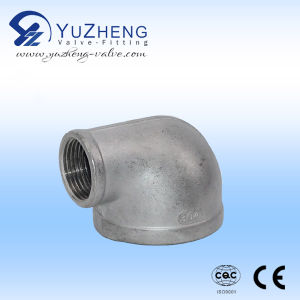 instalación de tuberías de acero inoxidable 90degree con el certificado de la ISO