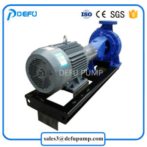 ISO 기준 수평한 끝 흡입 전기 원심 수도 펌프