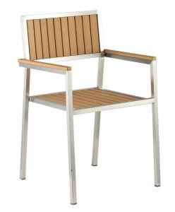 椅子を食事する多木304#ステンレス鋼の庭
