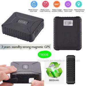Автомобиль в режиме ожидания в течение 3 лет GPS Tracker с сильным магнитным T800b