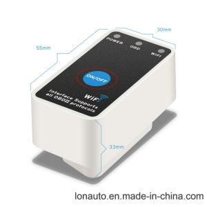 Android IosのためのSwitchのElm327 WiFi Obdii Car Diagnostic Tool