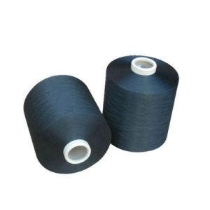 Het Verdovende middel 75D-600d van het Garen DTY van de polyester verfte Zwarte