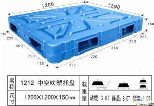 中国両面の空パレット1300mm*1100mm*150mm全販売