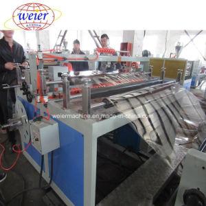 Rouleau de ligne d'Extrusion de feuilles en PET de recycler le plastique de la machine en l'extrudeuse à double vis