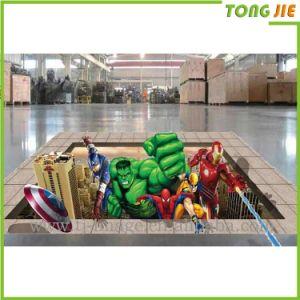 ホーム装飾的な防水漫画のビニールの床のステッカー
