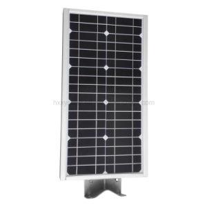 O sensor de movimento integrado em um só 12W Luz Rua Solar