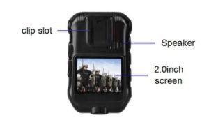 1080 Camera van de Controle van de politie de Lichaam Versleten met GPS 4G WiFi
