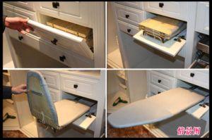 Einfache Higed Tür-Garderobe (BY-W-123)