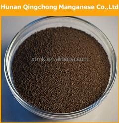 De Korrel van het Dioxyde van het mangaan/Mno2 Zand voor de Behandeling van het Water ISO9001