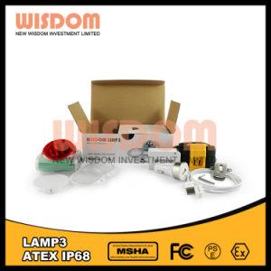 Lamp van de Mijnbouw van LEIDENE de Geribde Hatlamp van de Ondergrondse Mijnbouw Lichte