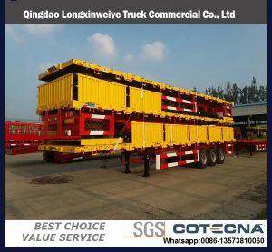 40 반 FT 3axles Platfrom 콘테이너 화물 트럭 /Tractor 트레일러