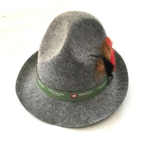 毛皮のフェルトのウールの帽子の帽子