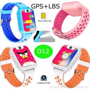 Het nieuwste Persoonlijke GPS Horloge van de Drijver met Sos/de Knoop van de Paniek D12