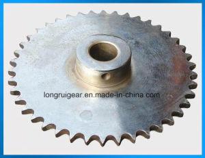 螺旋形拍車伝達スプロケット、鋳造物鋼鉄斜角スプロケットの処理