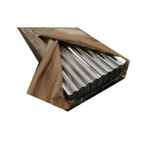 La norme ASTM A653 Z100 de tôle en acier ondulé galvanisé du matériau de couverture