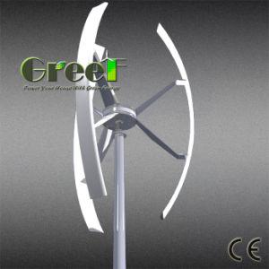 3kw de alta eficiencia de la turbina de viento vertical en la azotea de uso