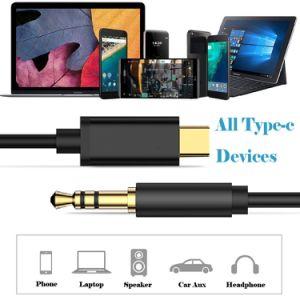 Digitare la C all'audio Jack maschio aus. del USB C dell'adattatore di 3.5mm cavo stereo dell'adattatore del cavo della cuffia di estensione del maschio di 3.5mm all'audio