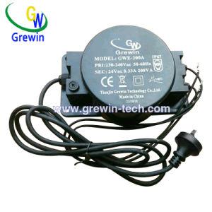 105W Transformador Impermeável Toroidal para lâmpadas de relva e iluminação subaquática com aprovação de gelo