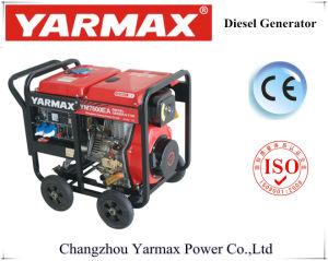 Gruppo elettrogeno diesel basso del consumo di combustibile 6kVA