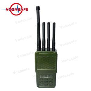 De Versie van de update van Draagbare Stoorzenders 8 GSM CDMA van Cellphone van Antennes 2g 3G 4G GPS van WiFi van het Signaal RadioStoorzender Lojack/WiFi/4G/GPS/VHF/UHF