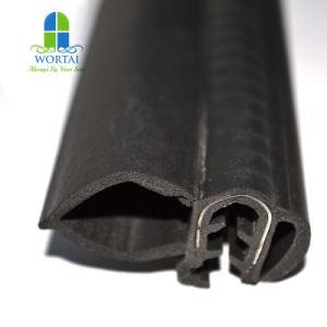 Guarnizione di gomma di sigillamento della striscia EPDM per il tipo striscia di gomma di gomma del portello di automobile U della finestra di automobile della guarnizione