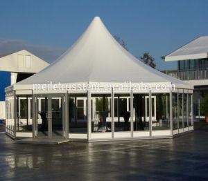 屋外の結婚式PVC玄関ひさし式の白い玄関ひさしのテント