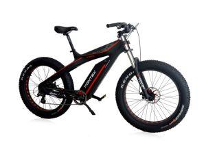 Новые EEC, TUV, RoHS горных районов с возможностью горячей замены E велосипед Fat 26 дюймов /Buke Removabke электрического заряда аккумулятора жир с велосипеда 4.0 шины с рамой из углеродного волокна (MZ-052)