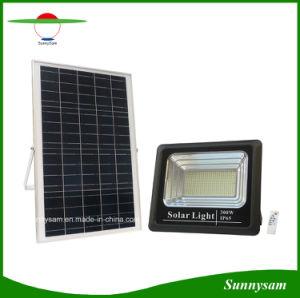 10W/25W/40W/60W/100W/200W/300W High Power LED de iluminación de seguridad Jardín Faroles solares con control remoto