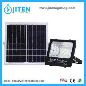 100W l'éclairage extérieur Wall Lamp lumière solaire Projecteur à LED avec capteur de mouvement IRP RoHS Ce IP65