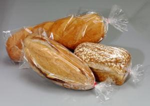 En PEBD transparent Sac alimentaire PE Poly