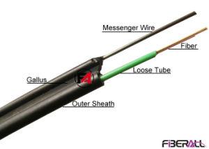 figura 8 cavo ottico di 12f Gyxtc8y della fibra autosufficiente ambientale