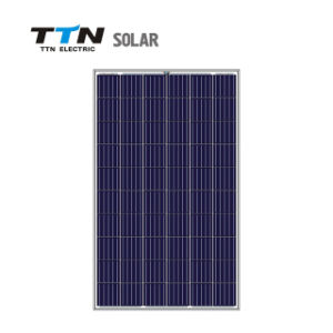 Panneau solaire polycristallin 270W avec plein de certificats