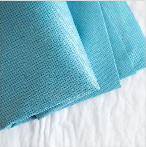 100% biodegradable PLA Spunbond desechables Nonwoven Fabric ecológica