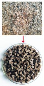 Ingénierie de PP en plastique renforcé de pellets, rempli de jute/fibre de lin PP, de renforcer les PP, renforcé de fibre PP avec linge de maison, matériau plastique, plastique PP Pellets