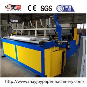 A elevada eficiência de papel higiénico e rolo de papel de cozinha máquina de rolo