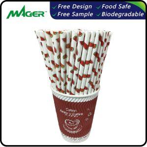 Eco-Friendly biodegradáveis de consumo de papel Palhinhas