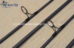 Pesca Rod tessuta carbonio Nano della carpa del carbonio di Toray