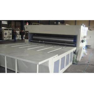 Полуавтоматическая цепь транспортера умирают картонная коробка вращающегося режущего бумагоделательной машины