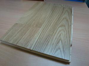 Le chêne noir le Parquet de 3 couches Engineered Wood Flooring