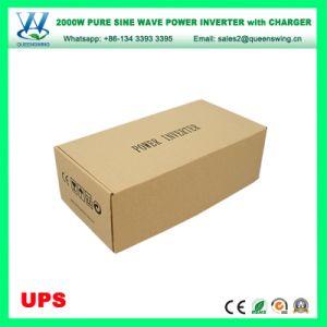 Alta freqüência de 2000W carregador UPS Inversor Conversor de Energia Solar (QW-P2000UPS)
