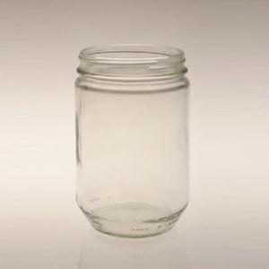 Alimentos Frasco de vidrio 510ml el almacenamiento de alimentos de atasco de Jar Jar
