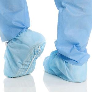 Зубоврачебные крышки ботинка устранимых продуктов Non-Sterile противоскользительные
