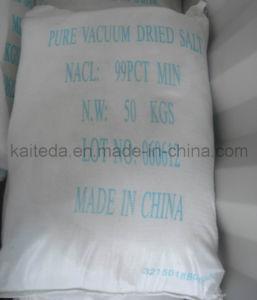 Het industriële Zout van Pdv van de Korrel van de Rang Witte (Zuiver droog vacuümzout)
